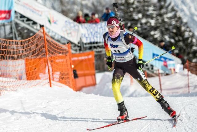 Sophia Schneider auf Medaillenkurs bei den Europäischen Olympischen Jugendspielen 2015 in Vorarlberg und Liechtenstein