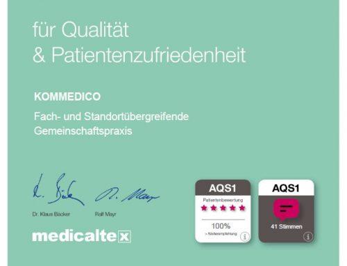 Die AQS1-Patientenbefragung bei KOMMEDICO