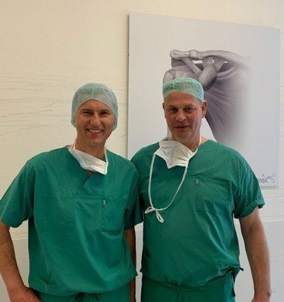 Dr. Mengel und Prof. Steinbeck von Raphaelklinik Münster