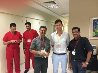 Dr. Mengel bei Schulterkurs in Singapur
