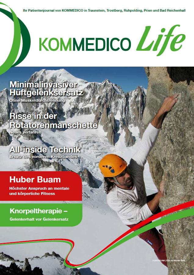 KOMMEDICO Life - Patienten-Journal 01/2015