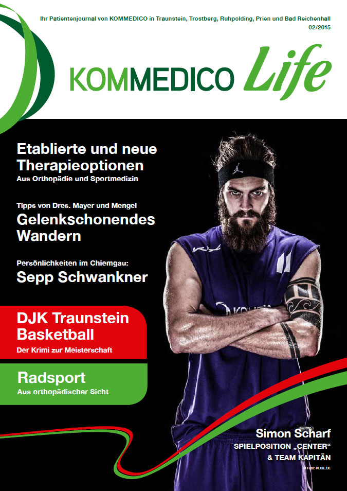KOMMEDICO Life - Patienten-Journal 02/2015