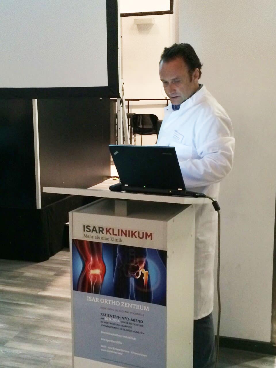 Dr. Demhartner - Vortrag im ISARKLINIKUM