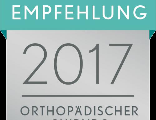 Dr. Mengel als empfohlener Arzt in Traunstein von Focus-Gesundheit 2017 ausgezeichnet