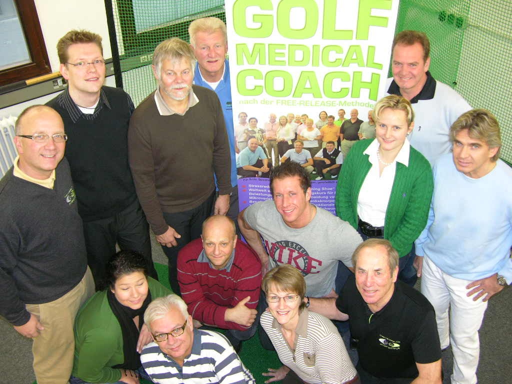 Dr. Himmer im Team der Medical Golf Coaches