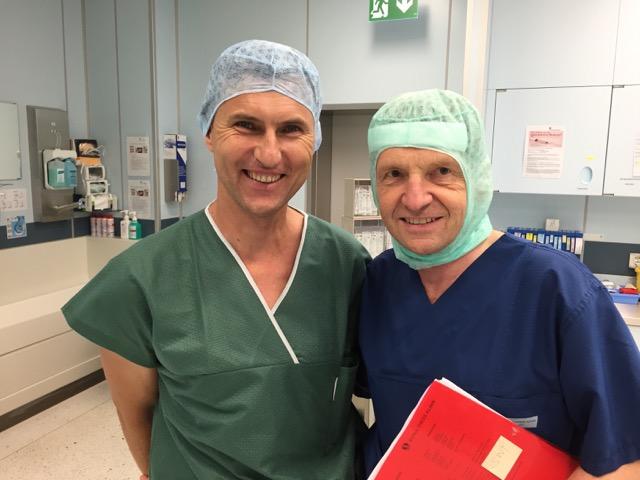 Hospiation Dr. Mengel in der Schulthess-Klinik 3