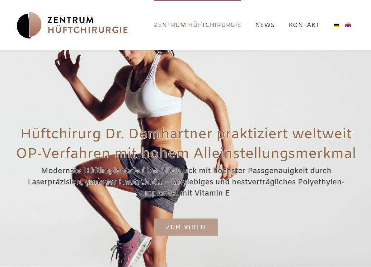 Hüftchirurg Dr. Demhartner praktiziert weltweit OP-Verfahren mit ...