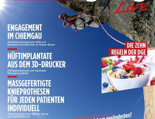 Freude durch Bewegung Live Chiemgau – Ausgabe 01-2018