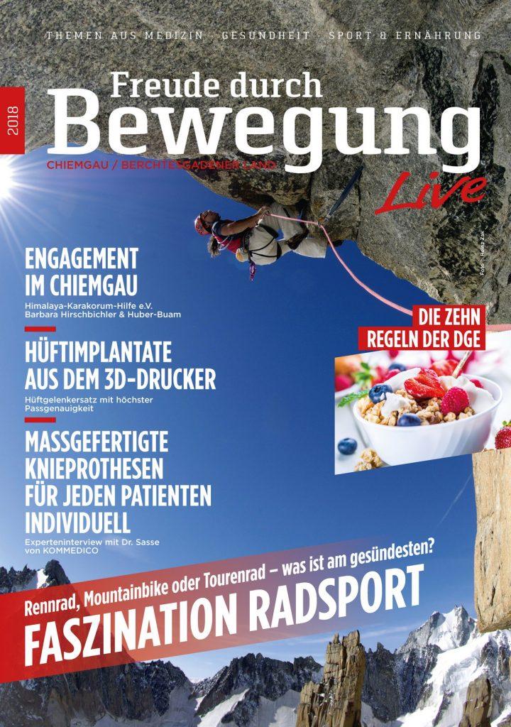 Freude durch Bewegung Live Journal Chiemgau 04/2018