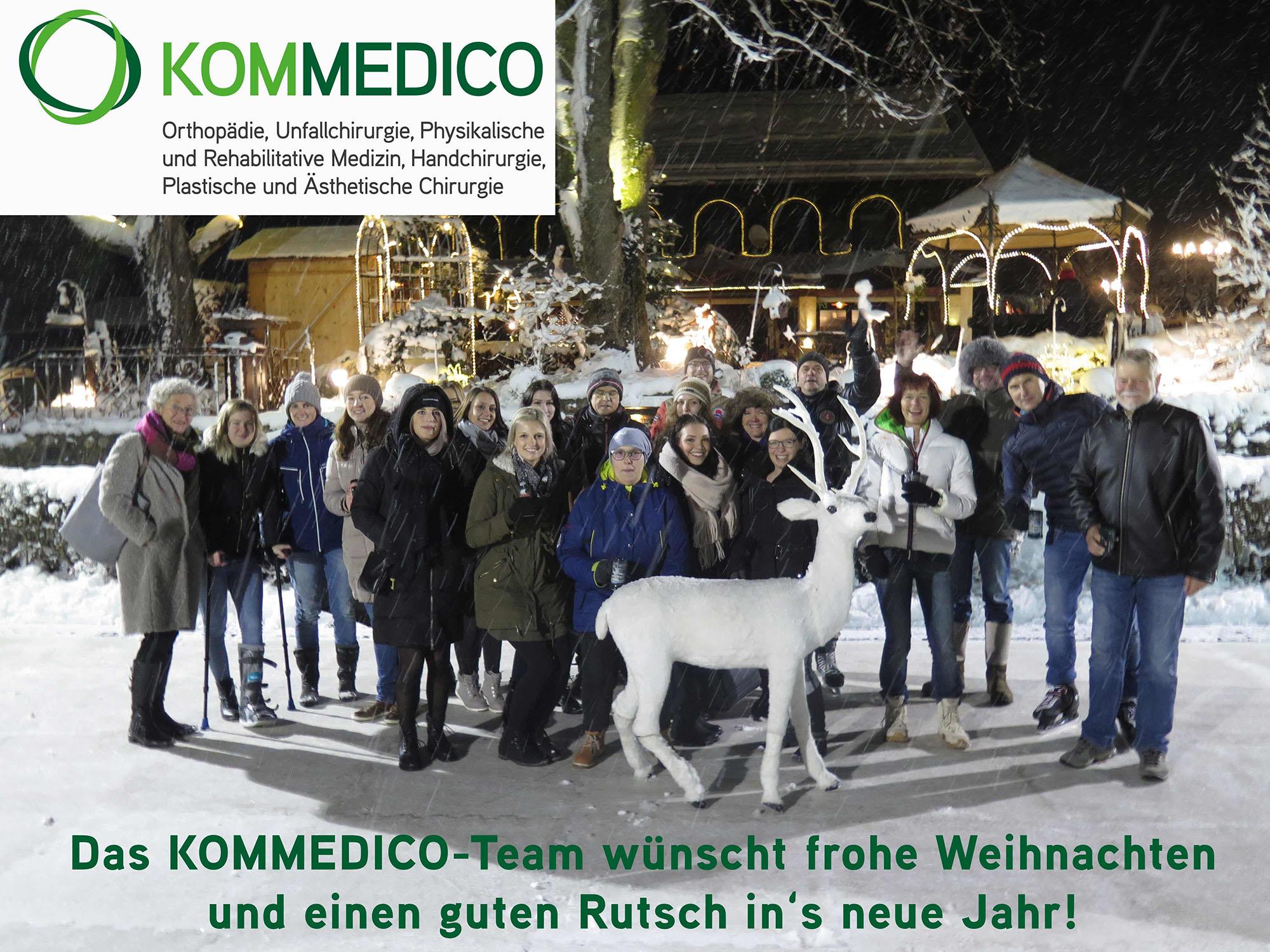 KOMMEDICO - Frohe Weichnachten 2018