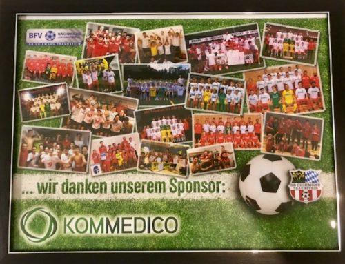 Dr. med. Thomas Demhartner und Dr. med. Stefan Mengel von Fußball Abteilung des SBC Traunstein geehrt