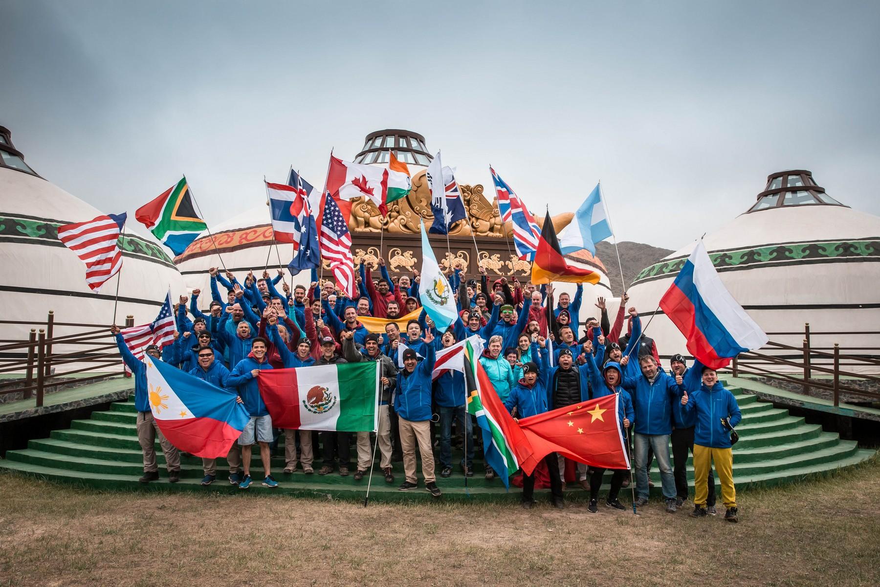BMW Motorrad International GS Trophy Zentralasien 2018