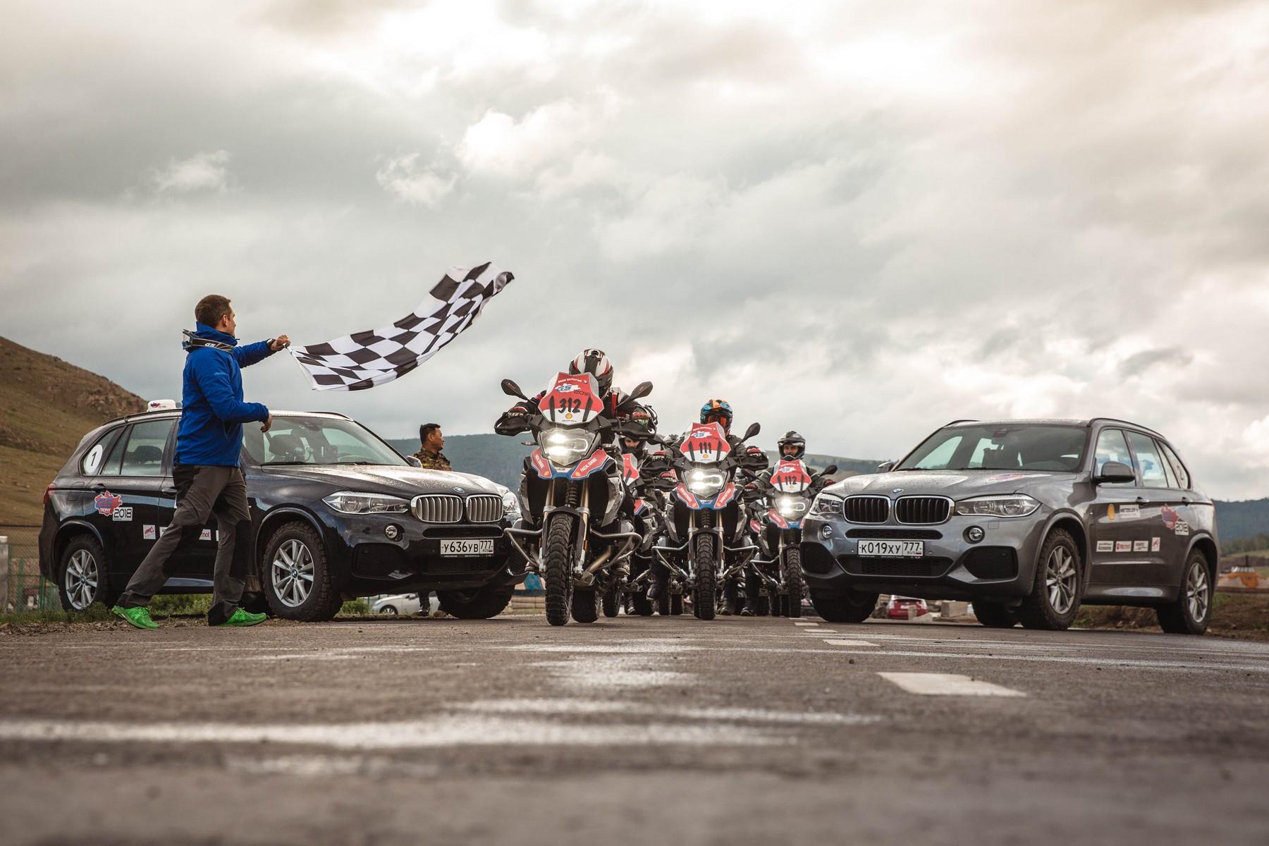 BMW Motorrad International GS Trophy Zentralasien 2018. Tag 1. Großartige Landschaften stellen an Tag 1 der Int. GS Trophy 2018 große Herausforderungen.