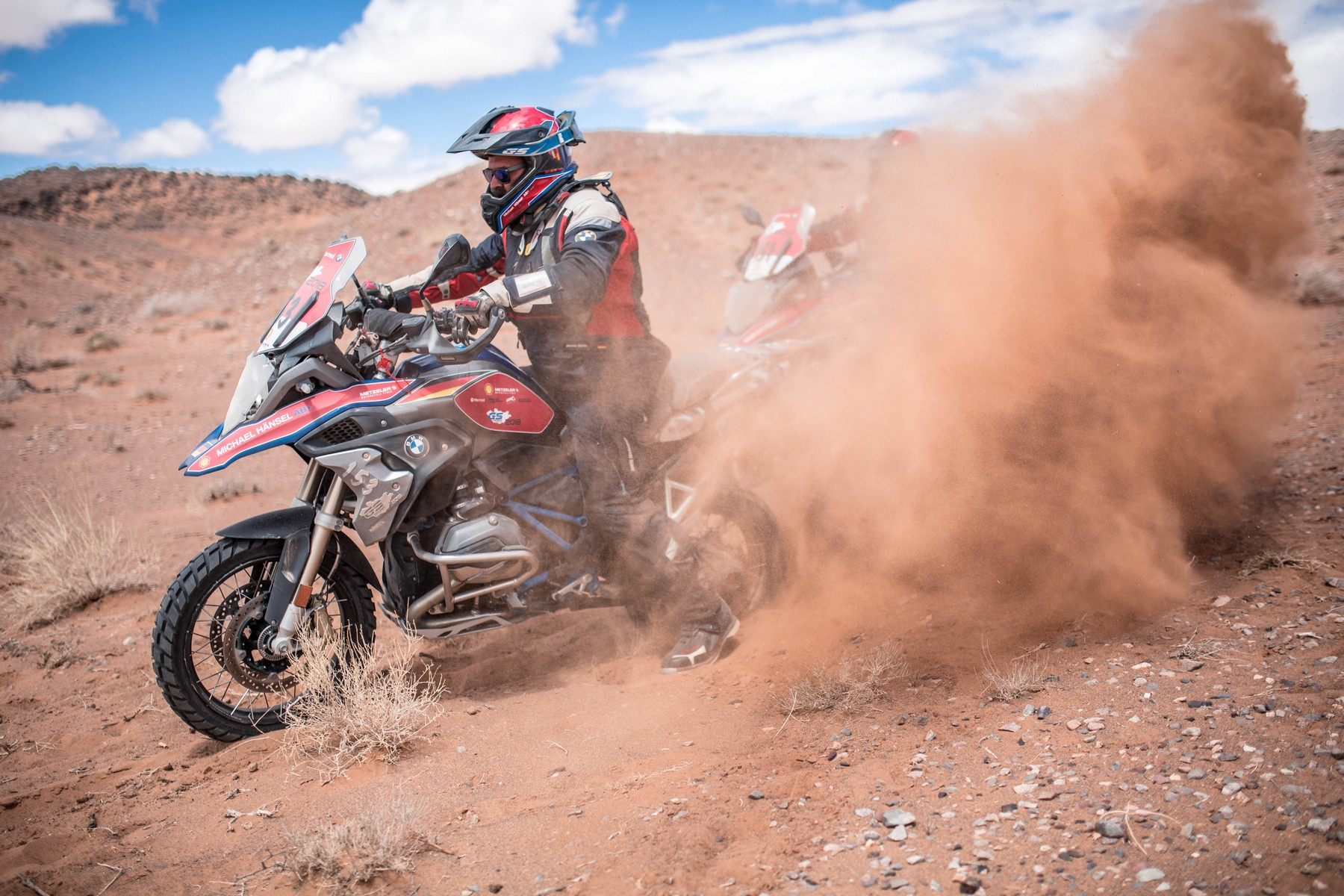 BMW Motorrad International GS Trophy Zentralasien 2018. Tag 4. Die Wüste ruft.